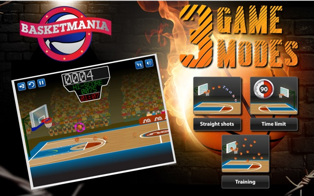 Basketmania on the Mac App Store 115d75f35ecf