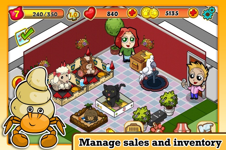 DinerTown Pets screenshot-2