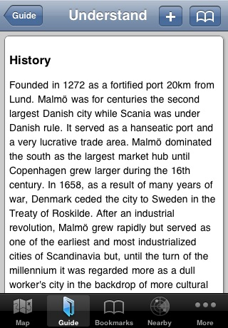 Malmo Offline Map & Guide screenshot-3