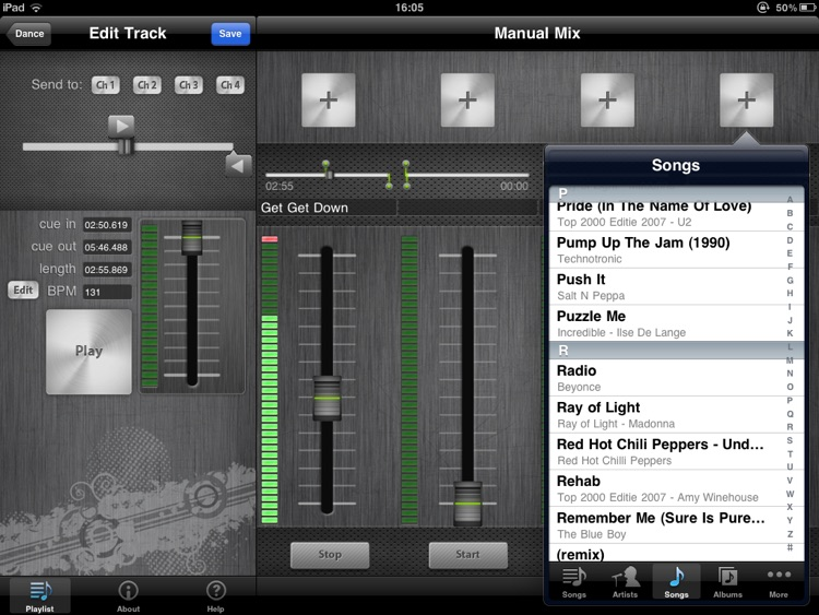 DJ Mixer HD screenshot-1