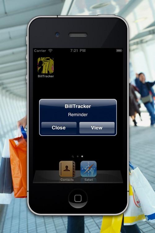 Bill Tracker HD Lite screenshot-4