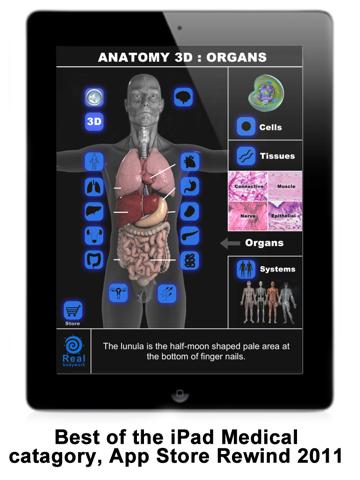 Anatomy 3D: Organsのおすすめ画像1