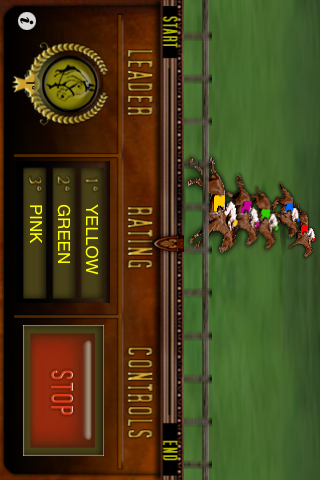 iHorseRace screenshot one