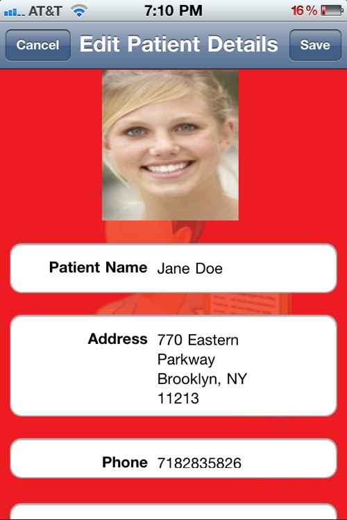 Patients Database HD screenshot-3