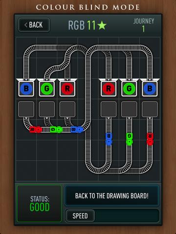 Игра Trainyard