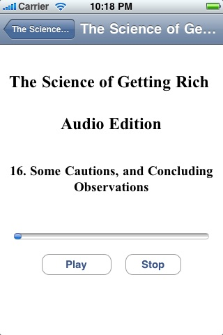 The Science of Getting Rich - Audio Edition screenshot-4