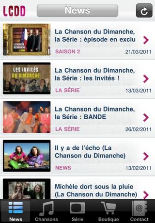 La Chanson Du Dimanche iphone captures décran