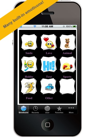 All-In-1 3D Emoticons Professional For MMS,EMAIL!
