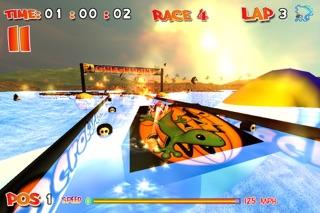 CrazyBoat Free screenshot one