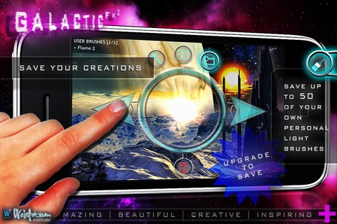 Galactic FX ² FREE : Art with Light screenshot-3