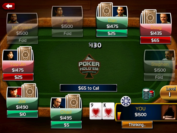 Poker: Hold'em Championship HD screenshot-2