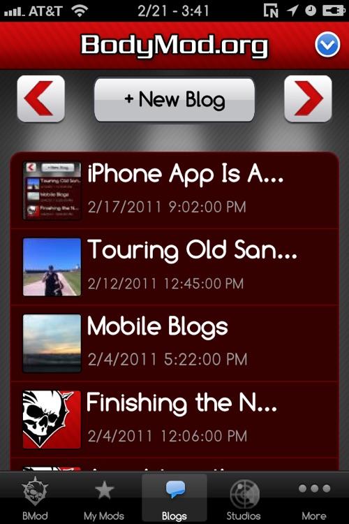 BodyMod.org Mobile App screenshot-3