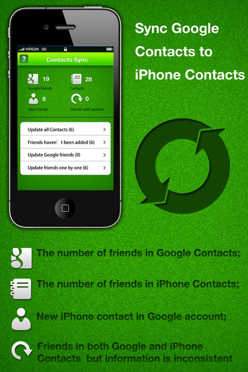 Contacts Sync for Google screenshot-0