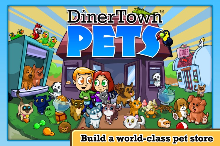 DinerTown Pets screenshot-1