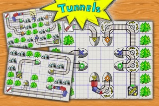 Doodle Train - Railroad Puzzler screenshot four