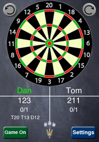 iNtuitive Darts Scorer screenshot-0