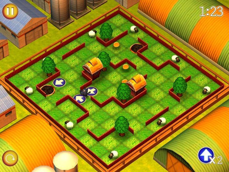 Running Sheep: Tiny Worlds HD Free screenshot-3
