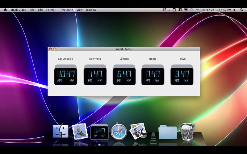 Mach Clock Screenshot