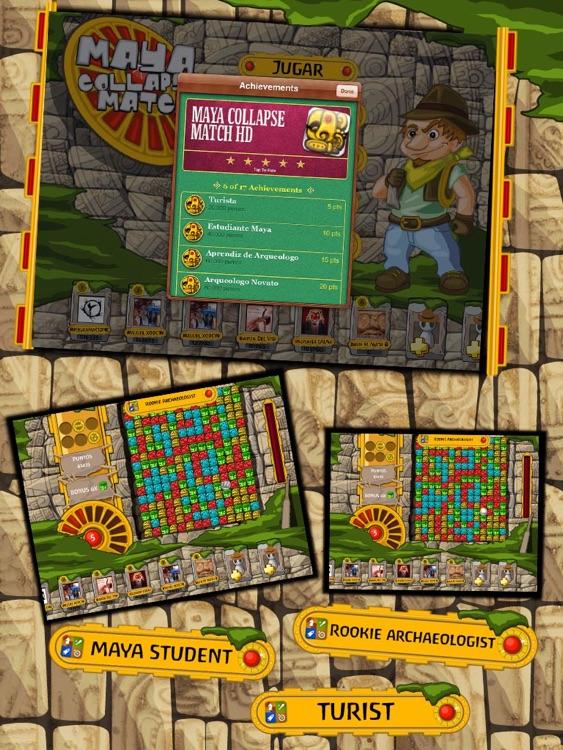 Maya Collapse Match HD Lite screenshot-3