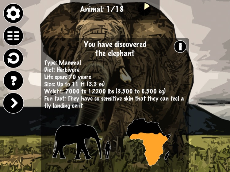 Draw by Dots - Animals of Africa screenshot-4