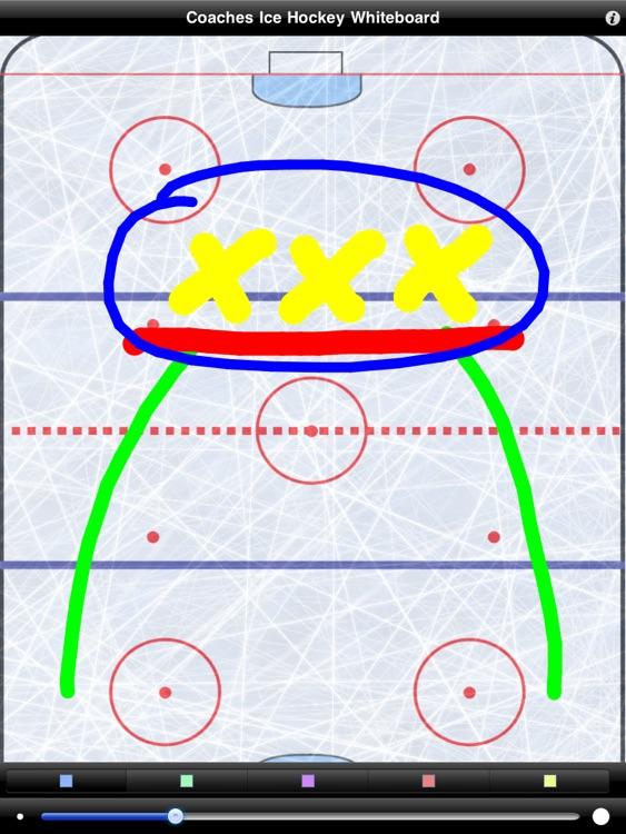Coaches Ice Hockey Wipeboard