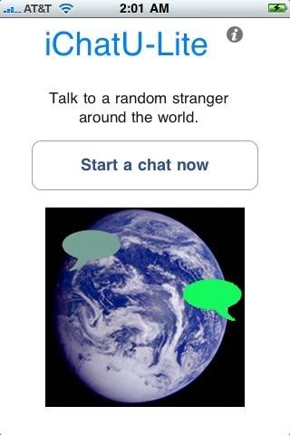 iChatU Lite screenshot one