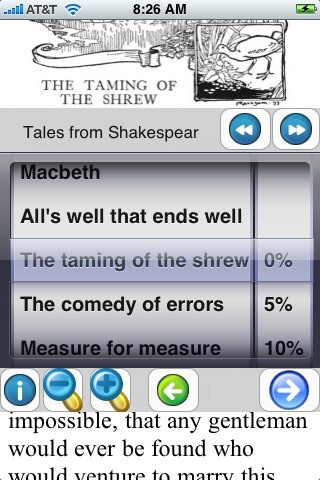 Illustrated Tales from Shakespeare (with color illustrations) screenshot four
