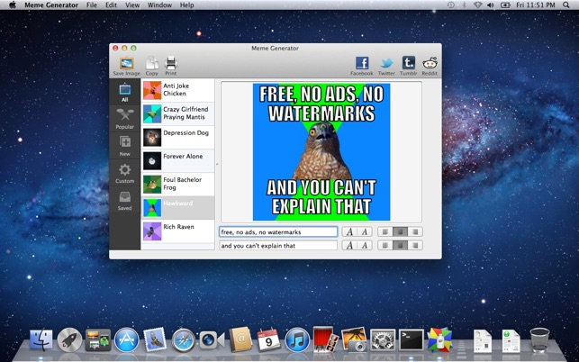 643x0w meme generator on the mac app store