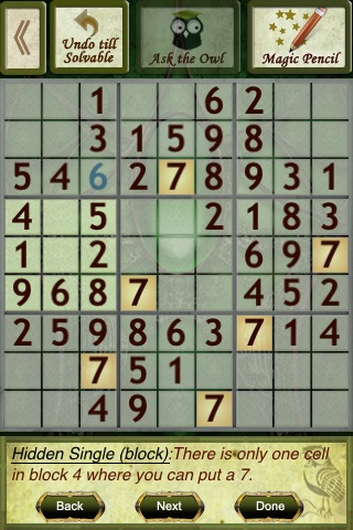 Tap Sudoku screenshot-3