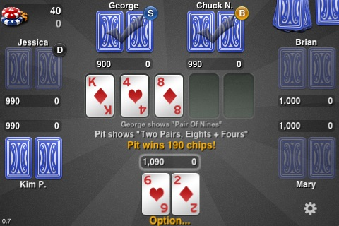 THTouch - Texas Holdem Poker screenshot-1