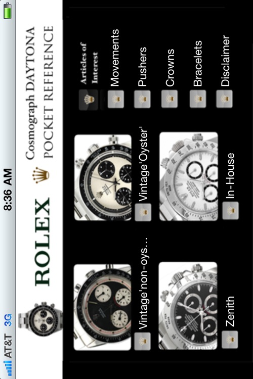 Rolex Cosmograph Daytona Pocket Reference screenshot-3