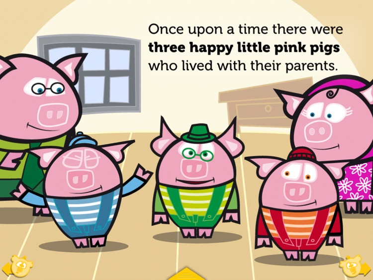 THE THREE LITTLE PIGS HD. ITBOOK STORY-TOY. screenshot-1