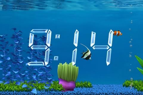 Aquarium Clock screenshot-2