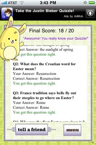 An Easter Quizzle™ screenshot-3