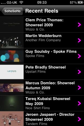 Screenshot of SohoSoHo