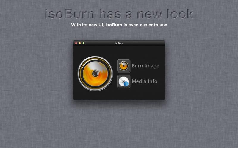 isoBurn Screenshot