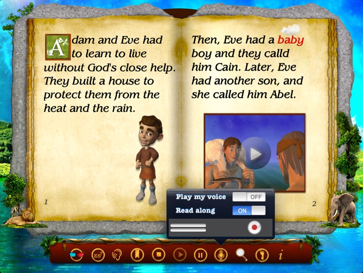 The Bible BooClips - Cain and Abel Lite