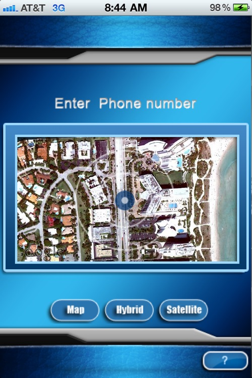 Cell Phone Locator Deluxe screenshot-0