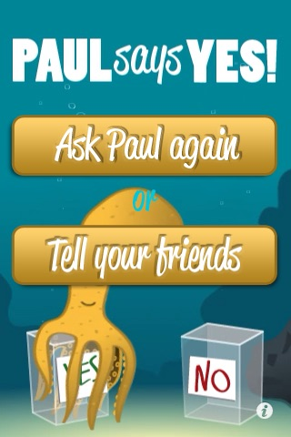 Ask Paul the Psychic Octopus screenshot-3