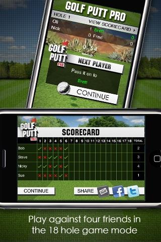 Golf Putt Pro screenshot-4
