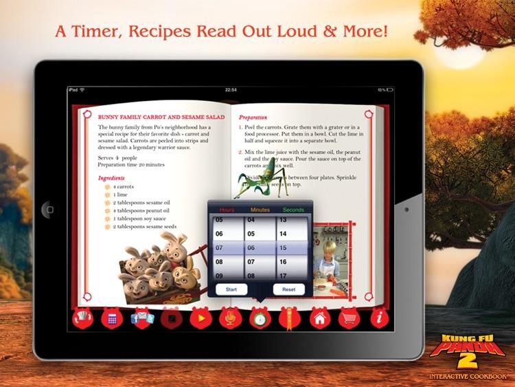 Kung Fu Panda 2 Interactive Cookbook HD Lite screenshot-4