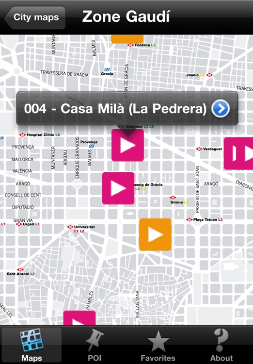 Barcelona Gaudí touristic audio guide (english audio) screenshot-3