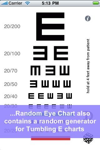 Random Eye Chart Generator