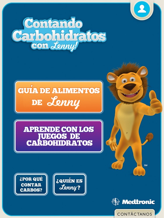 Contando Carbohidratos con Lenny for iPad