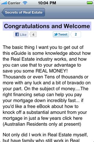 Secrets of Real Estate screenshot 3
