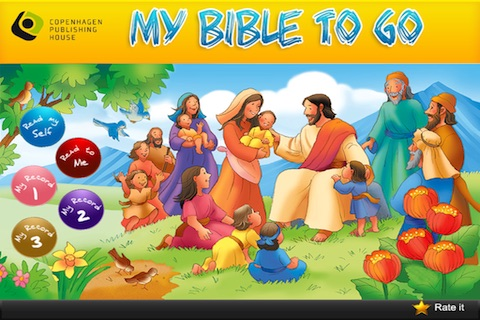My Bible To Go – Interactive Children's Bible