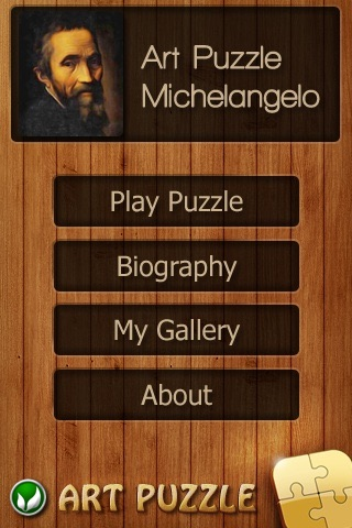 Michelangelo Jigsaw Puzzles screenshot-0