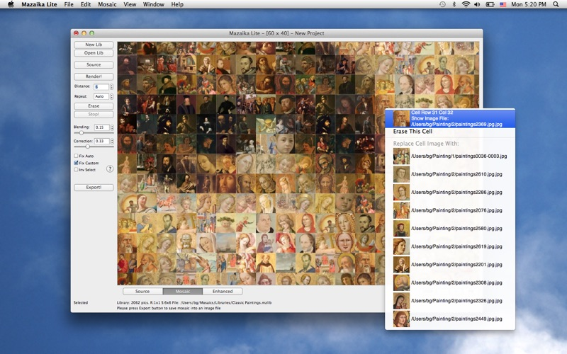 Mazaika Lite Screenshot