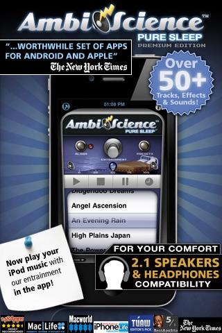 Pure Sleep Premium* | AmbiScience™ • Binaural & Isochronic Ambient Sleep Utility