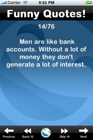 Funny Quotes (FREE) screenshot three